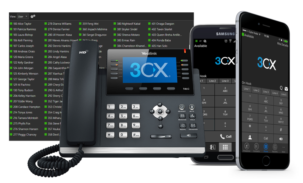 3CX® Cloud Telefonanlage 1